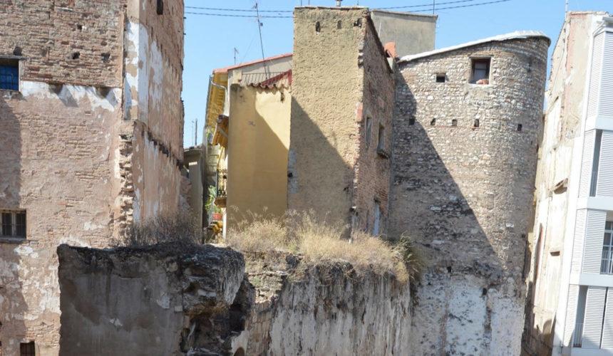 0309 Muralla islàmica plaça Angel