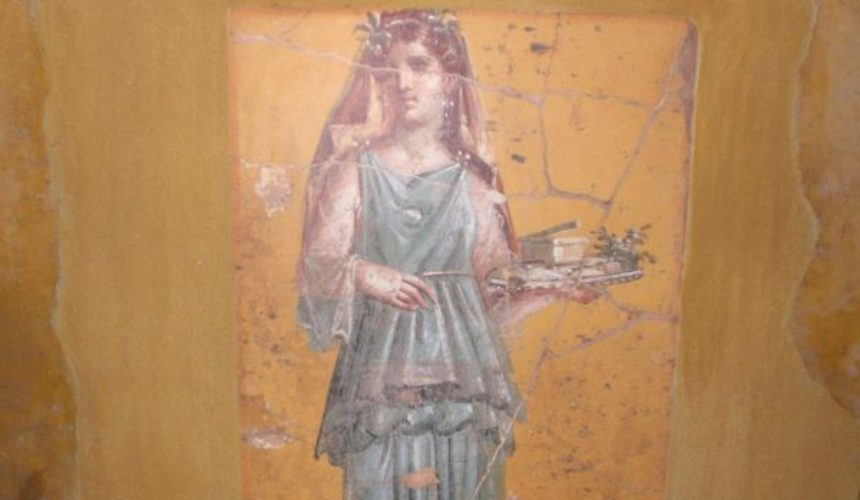 Lcia CC_Fresco_of_woman_with_tray_in_Villa_San_Marco rec face